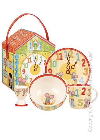 Набор детской посуды Churchill Hickory Dickory Dock Breakfast Set, 4 предмета