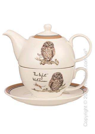 Набор чайник заварочный с чашкой Churchill Country Pursuits Tea for One, 3 предмета