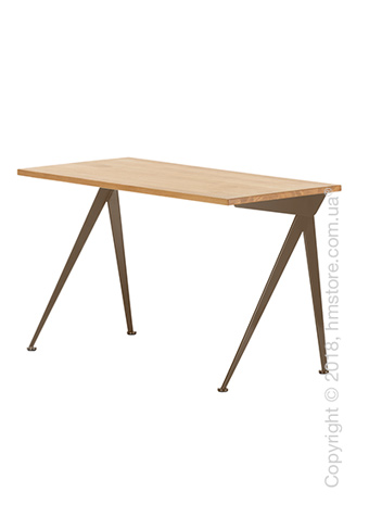 Стол Vitra Compas Direction, Natural Oak and Coffee