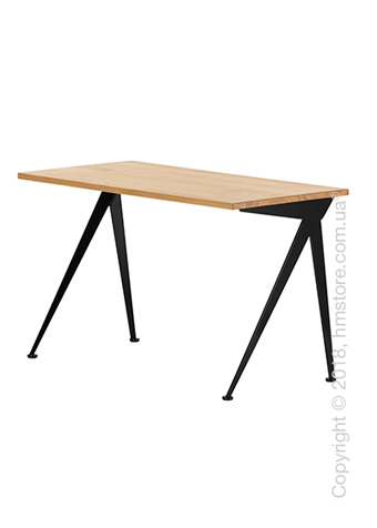 Стол Vitra Compas Direction, Natural Oak and Deep Black