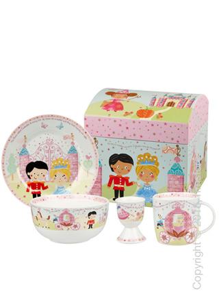 Набор детской посуды Churchill Cinderella Breakfast Set, 4 предмета