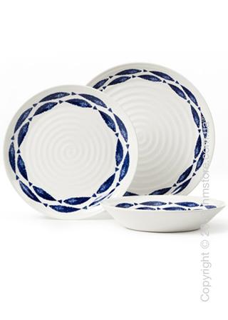 Набор посуды Churchill Fishie on a Dishie на 4 персоны, 12 предметов