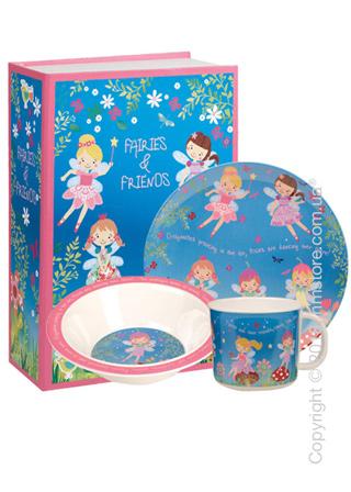 Набор детской посуды Churchill Fairies and Friends Melamine Set, 3 предмета