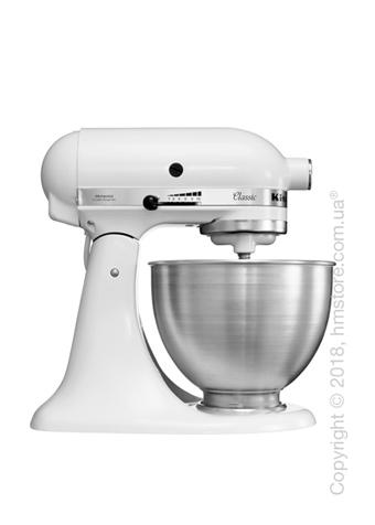 Планетарный миксер KitchenAid Classic Series 4.5 Quart Tilt-Head Stand Mixer 4.28 л, White