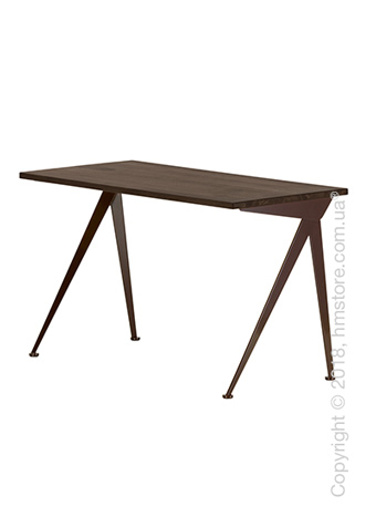 Стол Vitra Compas Direction, Smoked Oak and Chocolate