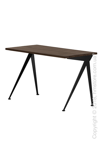 Стол Vitra Compas Direction, Smoked Oak and Deep Black