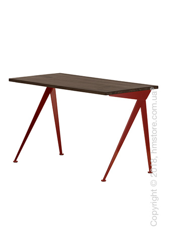 Стол Vitra Compas Direction, Smoked Oak and Japanese Red