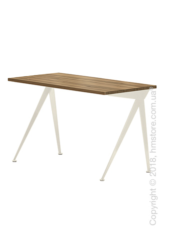 Стол Vitra Compas Direction, American Walnut and Ecru