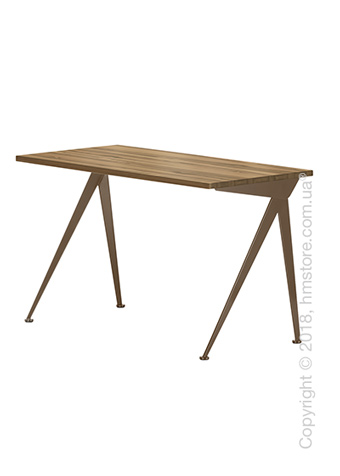 Стол Vitra Compas Direction, American Walnut and Coffee