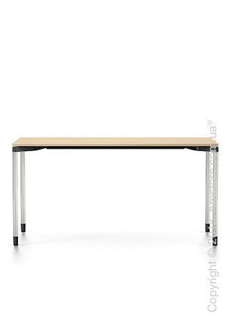 Стол Vitra Map Table, Light Oak and Chrome