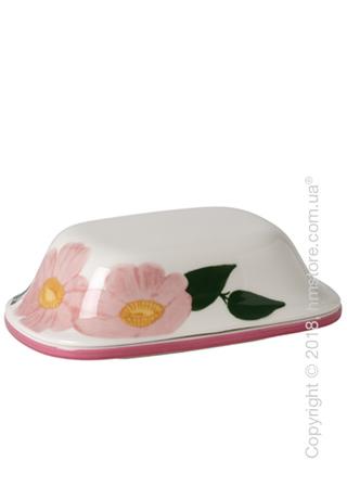 Емкость с крышкой для сливочного масла Villeroy & Boch коллекция Rose Sauvage Heritage