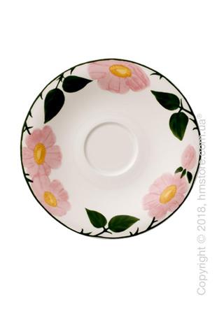 Блюдце Villeroy & Boch коллекция Rose Sauvage Heritage, 16 см