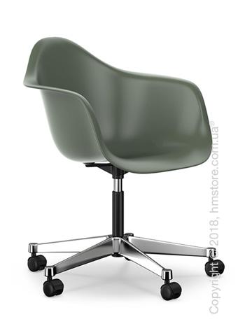 Кресло Vitra Eames Plastic Armchair PACC, Basalt