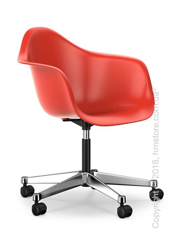 Кресло Vitra Eames Plastic Armchair PACC, Poppy Red