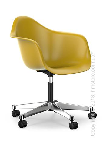 Кресло Vitra Eames Plastic Armchair PACC, Mustard