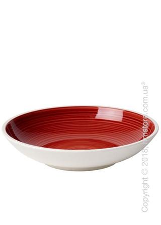 Тарелка для пасты Villeroy & Boch коллекция Manufacture 23,5 см, Red