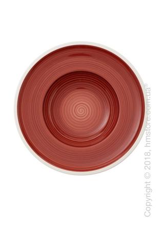 Тарелка столовая глубокая Villeroy & Boch коллекция Manufacture 25 см, Red