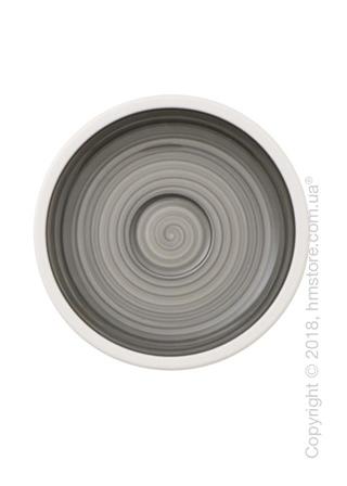 Блюдце Villeroy & Boch коллекция Manufacture 12 см, Grey