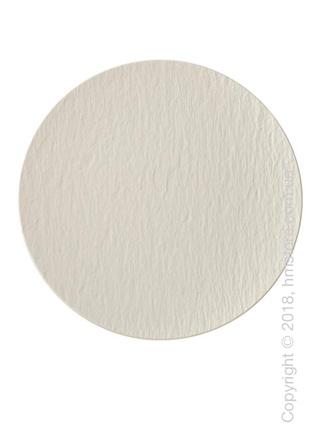 Блюдо для подачи пиццы Villeroy & Boch коллекция Manufacture Rock 31,7 см, White