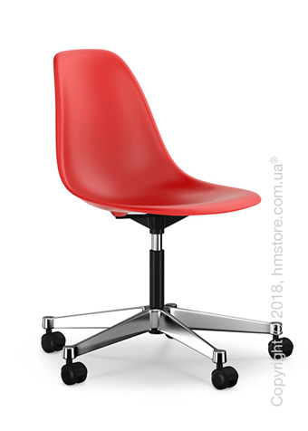 Кресло Vitra Eames Plastic Side Chair PSCC, Classic Red