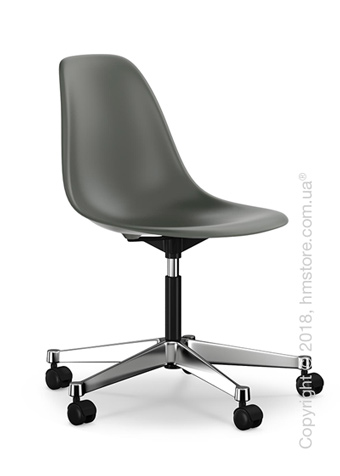Кресло Vitra Eames Plastic Side Chair PSCC, Basalt