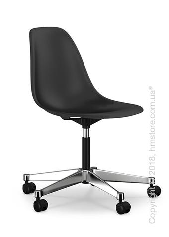 Кресло Vitra Eames Plastic Side Chair PSCC, Basic Dark