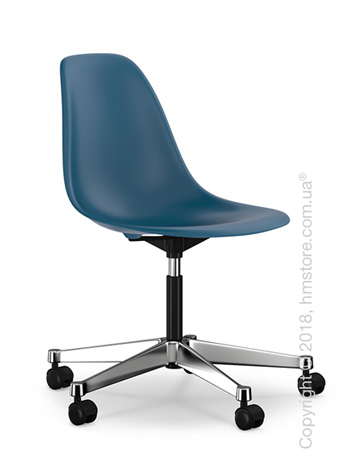 Кресло Vitra Eames Plastic Side Chair PSCC, Navy Blue