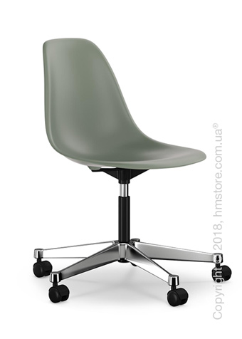 Кресло Vitra Eames Plastic Side Chair PSCC, Moss Grey