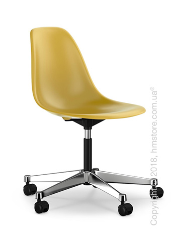 Кресло Vitra Eames Plastic Side Chair PSCC, Mustard