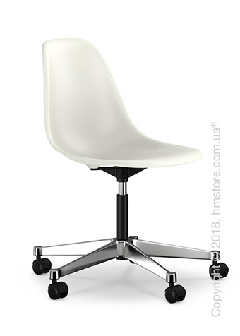 Кресло Vitra Eames Plastic Side Chair PSCC, White