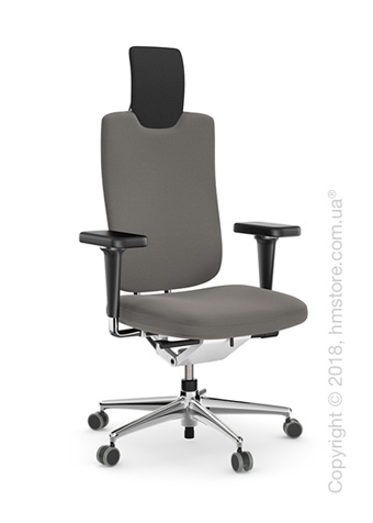 Кресло Vitra Headline Office swivel chair, Skin Light Grey