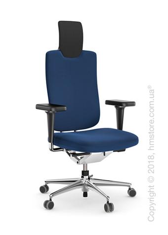 Кресло Vitra Headline Office swivel chair, Skin Blue
