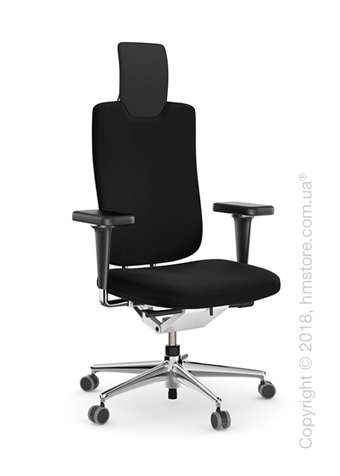 Кресло Vitra Headline Office swivel chair, Skin Nero