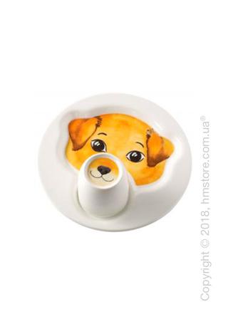 Набор детской посуды Villeroy & Boch коллекция Animal Friends, Dog 2 предмета