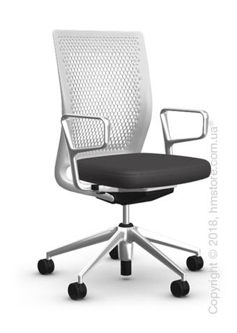 Кресло Vitra ID Air Soft Grey, Plano Dark Grey