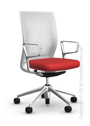 Кресло Vitra ID Air Soft Grey, Plano Red Poppy Red