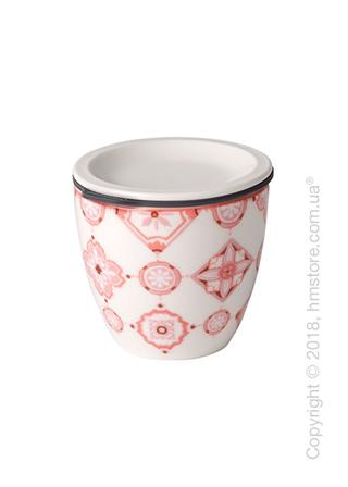 Чашка с крышкой Villeroy & Boch коллекция To Go Rose S, 80 мл