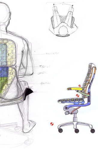 проект кресла Embody