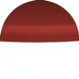 Пуф Calligaris Candy, Plastic matt optic white and Fabric red