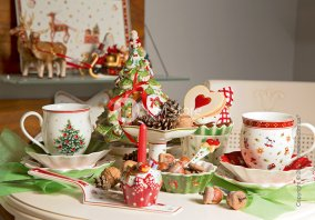 Toy s Delight рождественская (новогодняя) посуда - зимння коллекция