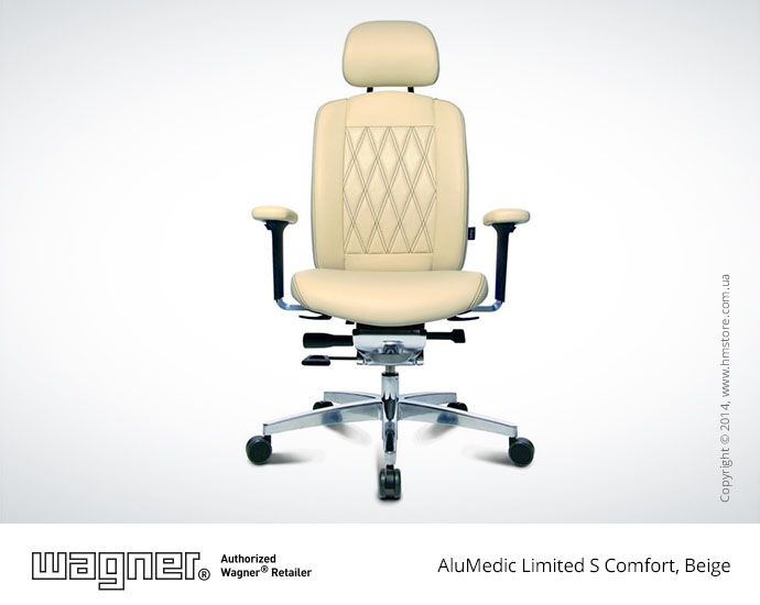 Кресло Wagner AluMedic Limited S Comfort, Beige, Part NO.: AO9CDV72+