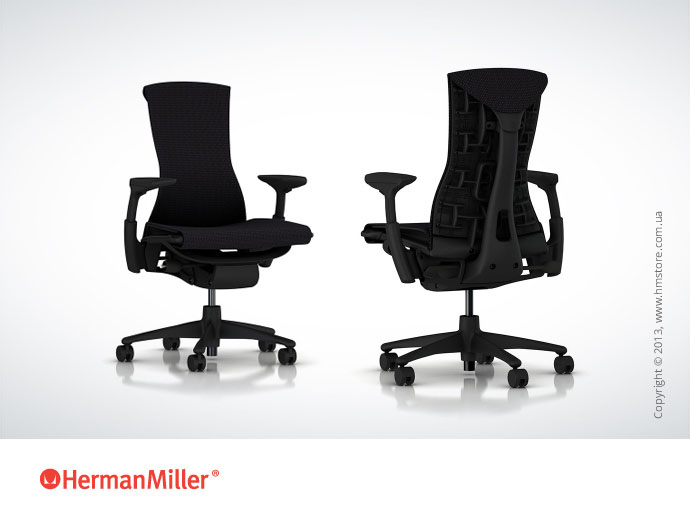 Кресло Herman Miller Embody, Part NO.: CN122AWAAG1G1C73513