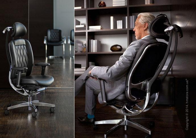 Немецкое кожаное кресло wagner