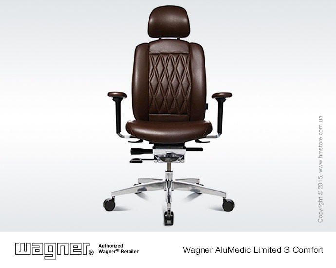 Кресло Wagner AluMedic Limited S Comfort, Dark Brown, Part. No: AO9CDV77+