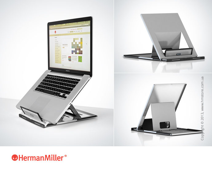 Держатель Herman Miller Lapjack Portable Laptop Holder, Part NO.: Y92043.0I