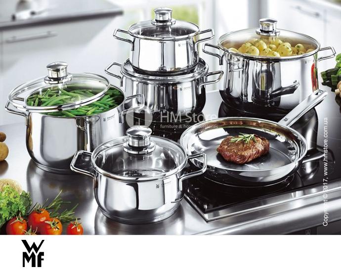 Купить посуду WMF – кастрюли, сковородки из нержавеющей стали