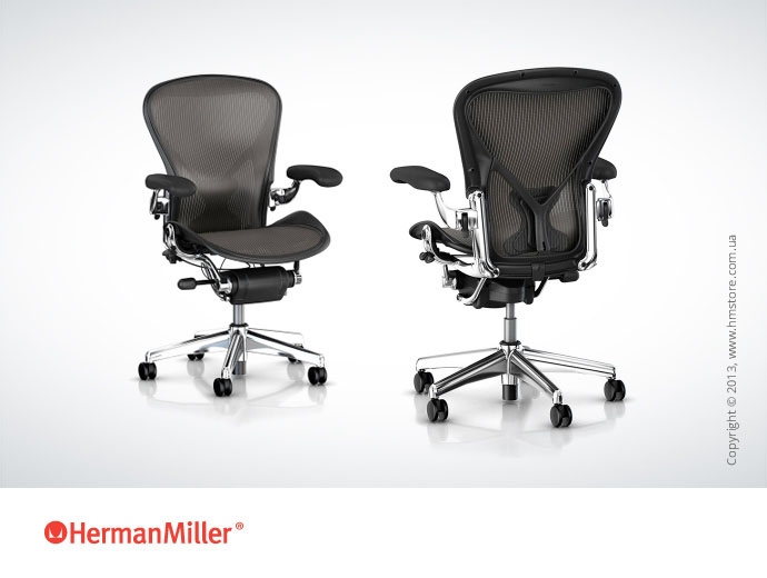 Кресло Herman Miller Aeron, Part NO.: AE113AFCPJCDC73D012109